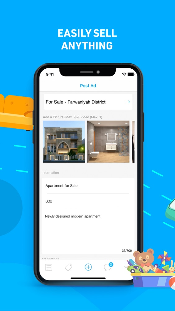 "4Sale's owners were not joking when pitching the app by saying ""Easily sell anything"". It allows users to filter by race and other specifications when looking for a slave"